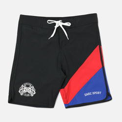 Sacrifice (JL2) Stage Shorts in Black/Red/Blue