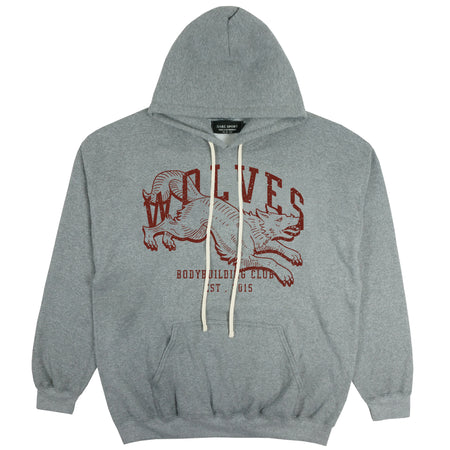 Hunter Hoodie in Athletic/Maroon