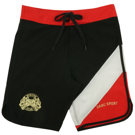 Sacrifice Stage Shorts in Black/White/Red