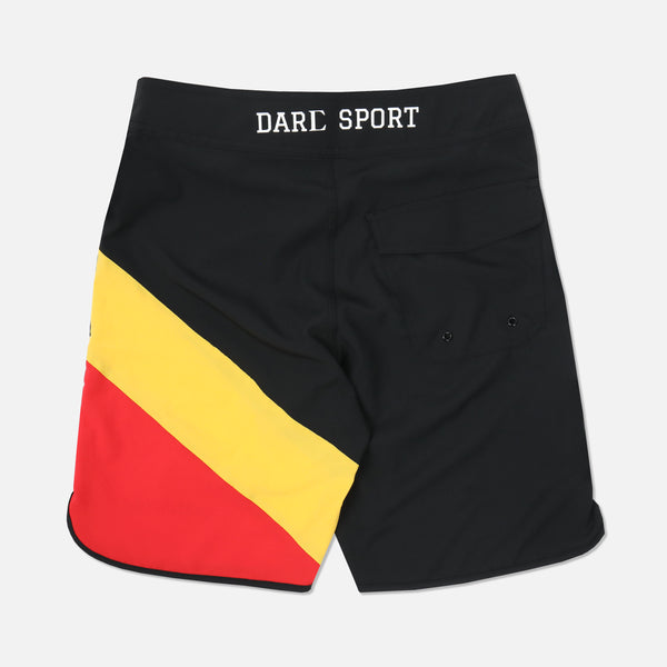 Rari V2 Stage Shorts in Black/Yellow/Red