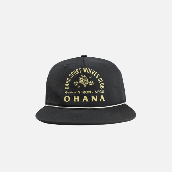 Ohana In Iron Rope Hat in Black (Releasing 4/12/20)