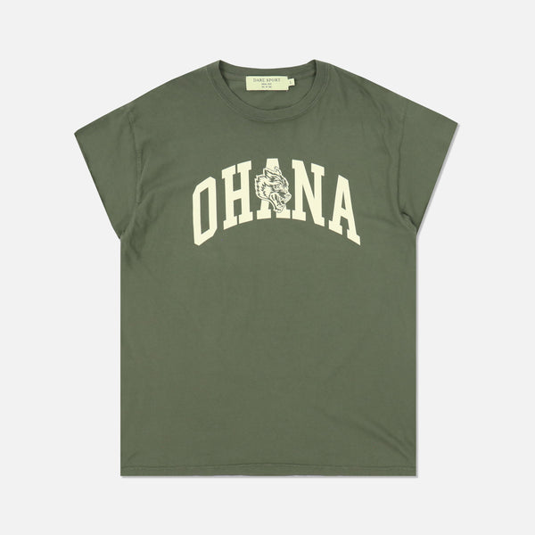 Family Cap Sleeve Tee in Sage