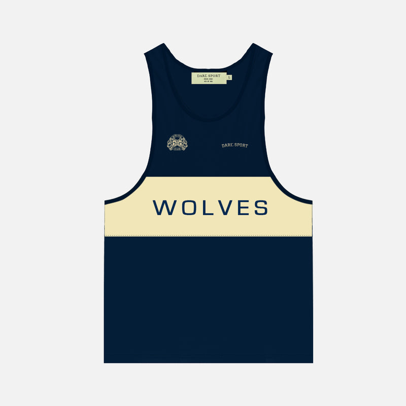 Venice Tank in Navy/Cream