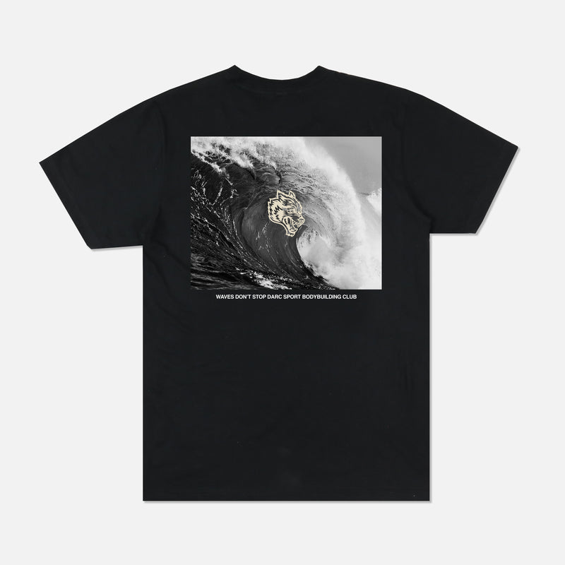 Waves Classic Tee in Black