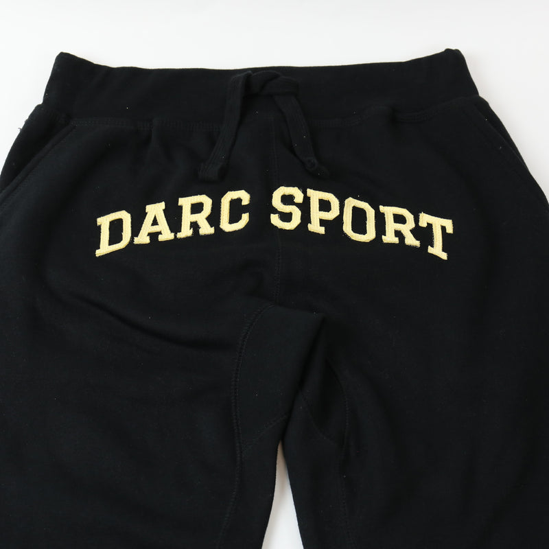 Arch Applique Jogger in Black
