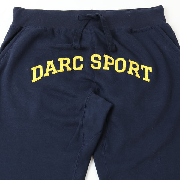 Arch Applique Jogger in Navy