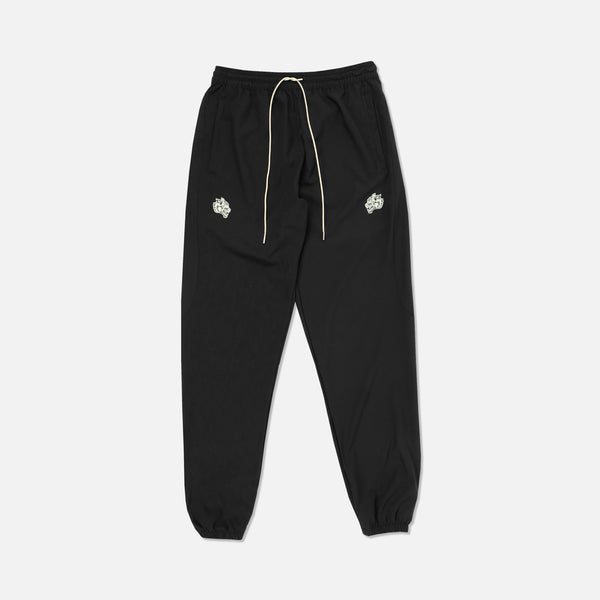 Everyday Crop Track Pants in Black