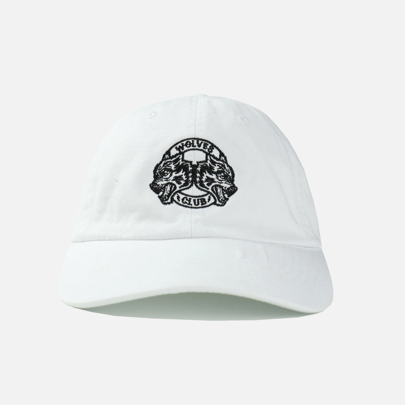 Wolves Club Dad Hat in White