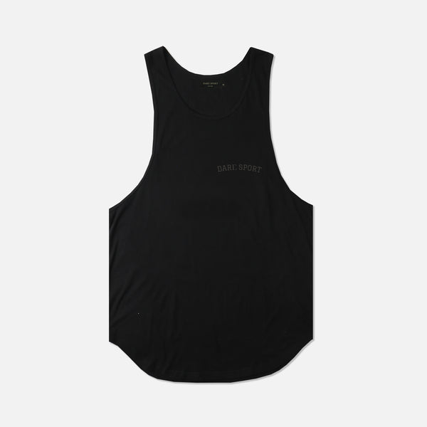Wolves Club Drop Tank in Black/Black