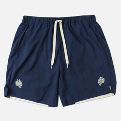 Wolves Compression Shorts in Navy