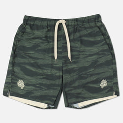 Wolves Compression Shorts in Wolf Camo/Tan