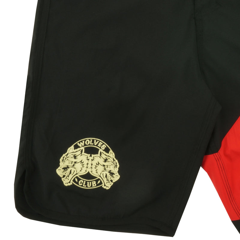 Sacrifice Stage Shorts (Diablo) in Black/Red