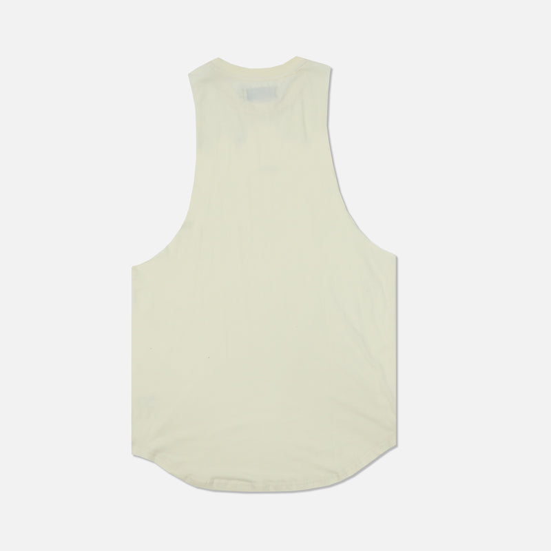 Family (Drop) Muscle Tee in Cream