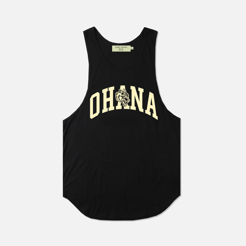 Family (Drop) Tank in Black