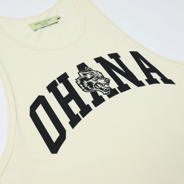 Family Classic Tank in Cream