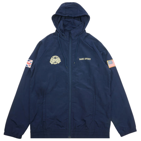 Fasted Windbreaker Jacket In Navy