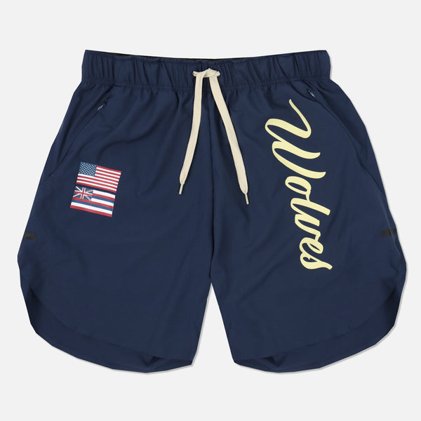 Ohana Flex Shorts in Navy