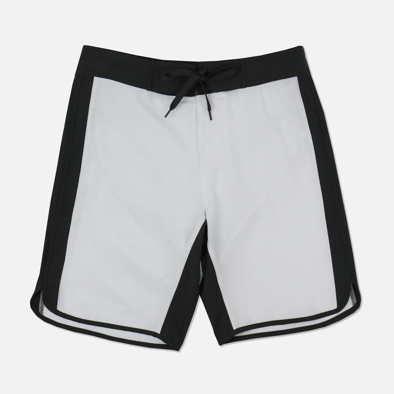 """The Greatest"" Game Of Death Stage Shorts in White/Black"