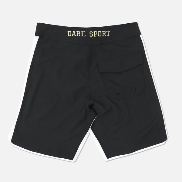 Game Of Death Stage Shorts in Black/White