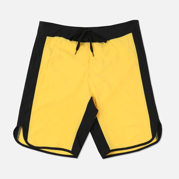 Game Of Death Stage Shorts in Yellow
