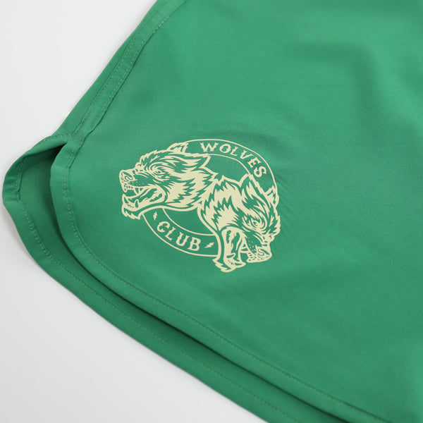 Ohana Stage Shorts in Black/White/Green (Releasing 4/12/20)