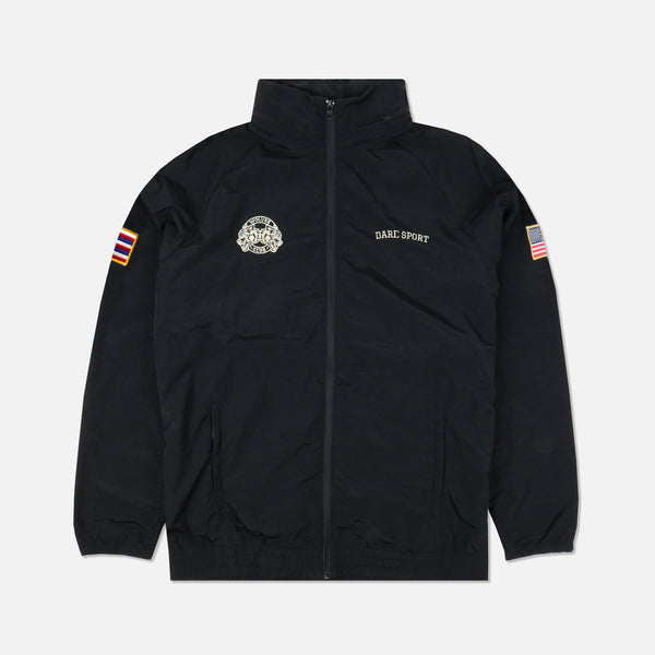 Ohana Fasted Windbreaker in Black