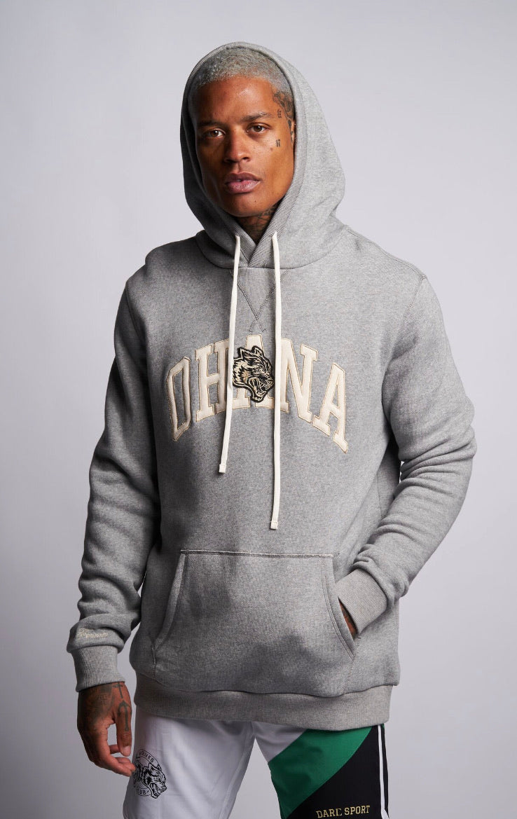 Ohana Applique Premium Hoodie in Athletic