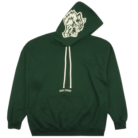 Inner Wolf Heavyweight Hoodie in Green