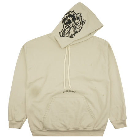 Inner Wolf Heavyweight Hoodie in Cream