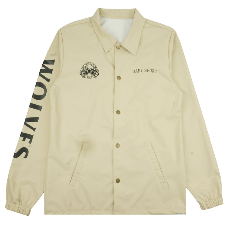 Wolves Coaches Jacket in Cream