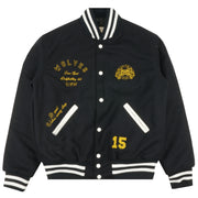 Sacrifice Letterman's Jacket In Navy