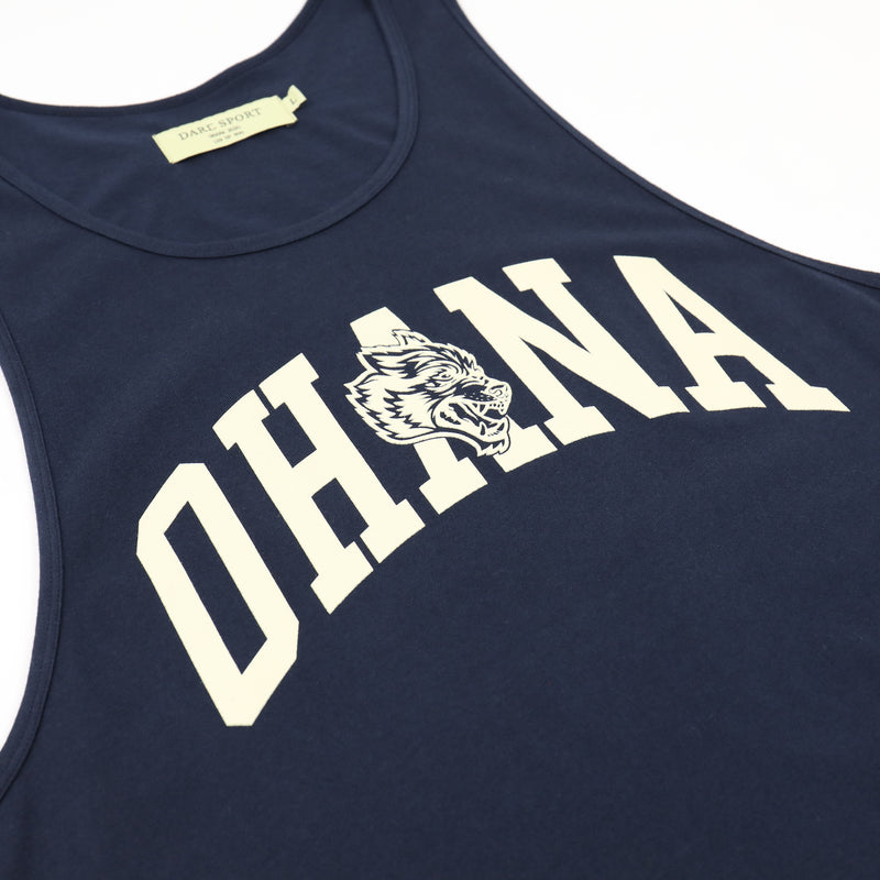 Family Classic Tank in Navy