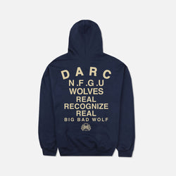 Real Recognize Real Classic Hoodie in Navy
