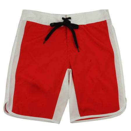Game Of Death Stage Shorts in Red
