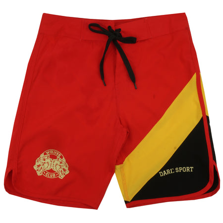Sacrifice Stage Shorts (Rari) in Red/Yellow/Black
