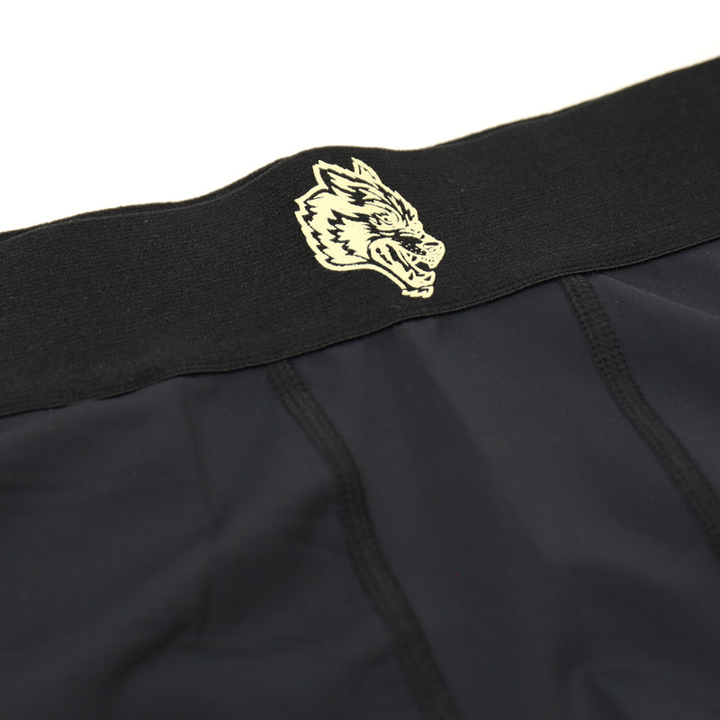 Darc Spandex Repping Shorts in Black