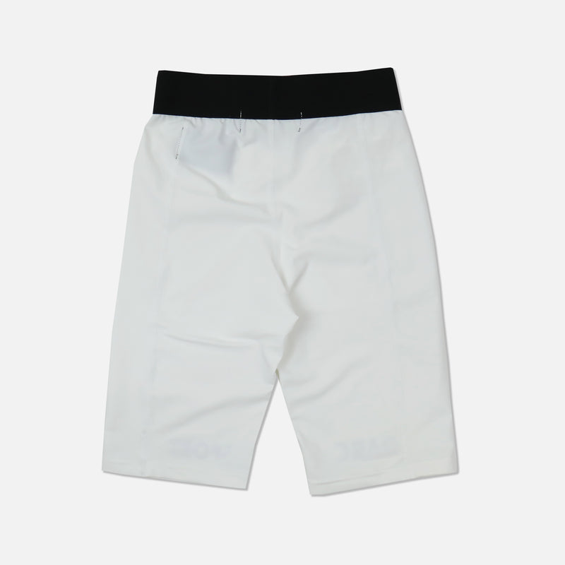Darc Spandex Repping Shorts in White