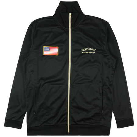 Stadium Track Jacket In Black