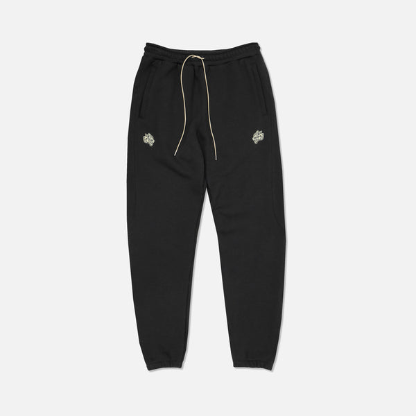 Everyday Crop Sweat Pants in Black