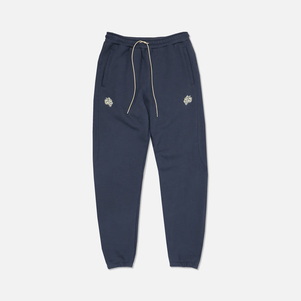 Everyday Crop Sweat Pants in Navy