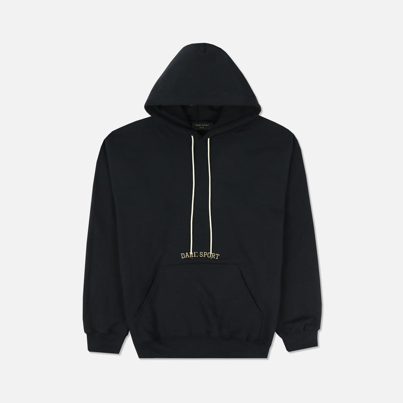 Then, Now, Forever Classic Hoodie in Black