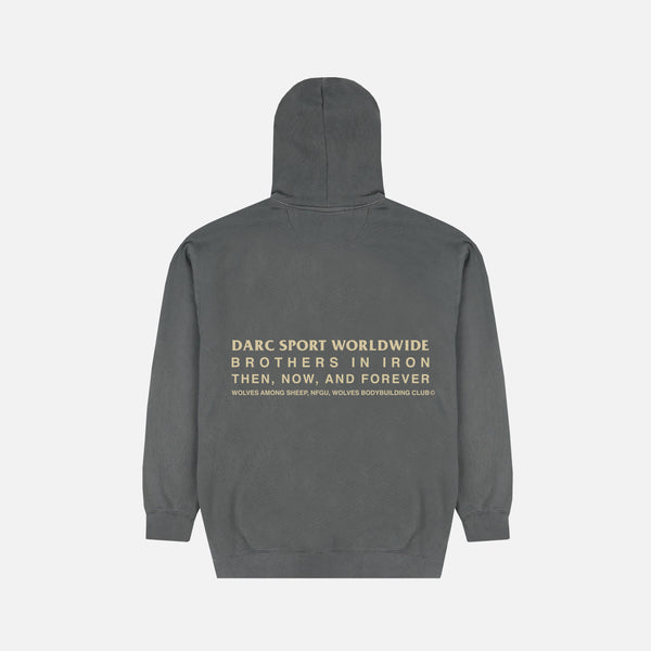 Then, Now, Forever Pigment Wash Hoodie in Pepper
