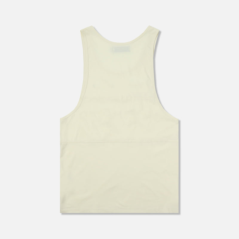 Venice Tank in Solid Cream