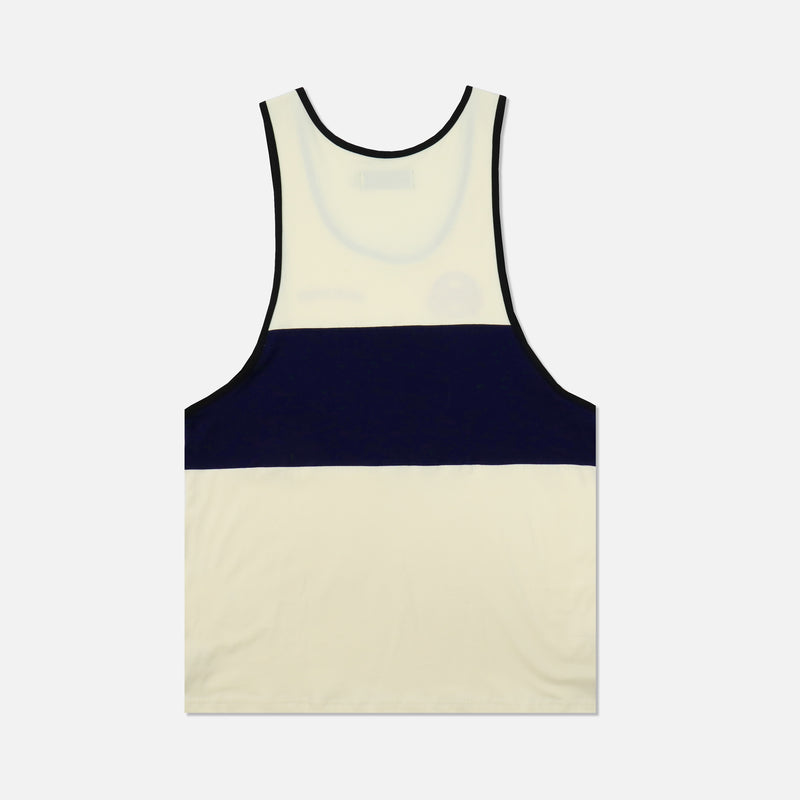 Ohana Venice Tank in Black/Navy/Cream