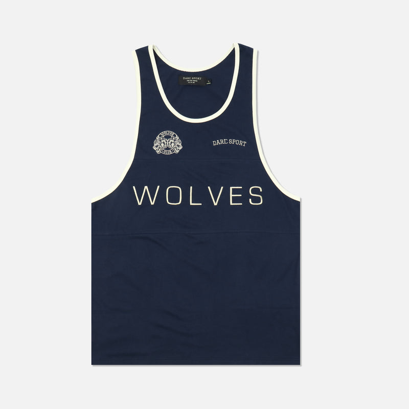 Venice Tank in Solid Navy
