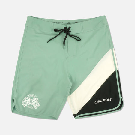 Wave Wolf Stage Shorts in Seafoam Green
