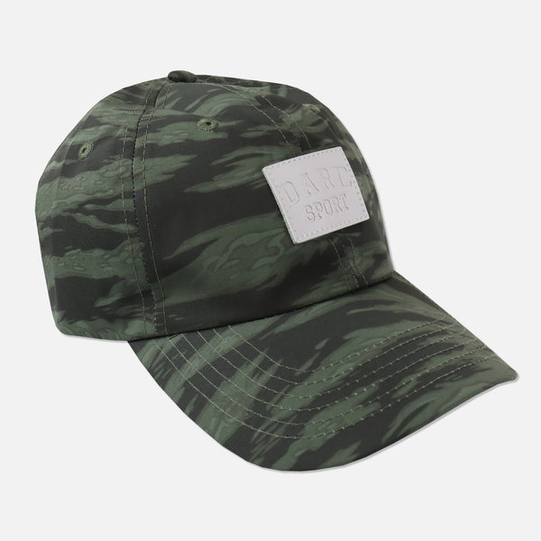 Will Within Strapback Hat in Wolf Camo Green