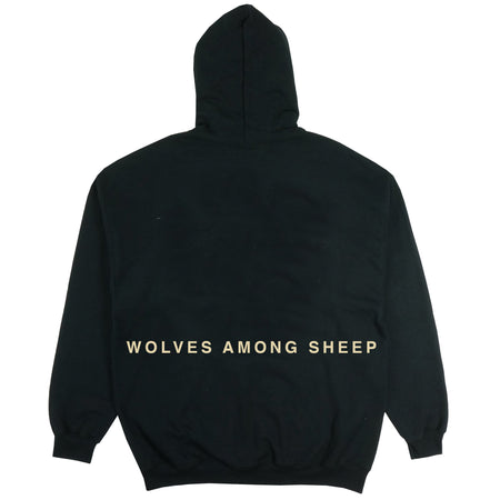 Wolves Among Sheep Hoodie in Black