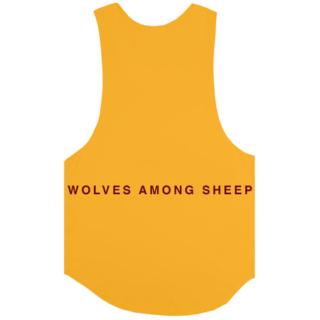 Wolves Among Sheep Drop Tank in Mustard