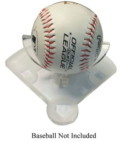 Acrylic Baseball Stand 3D Laser Engraved Display Athletic Unique Diamond  Field Trophy